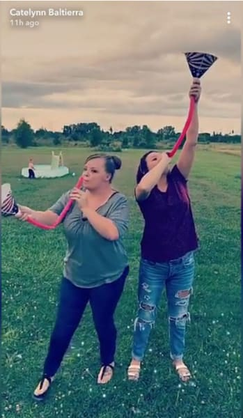 Catelynn Lowell Funneling Photo