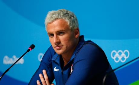 Ryan Lochte Press Conference Day 7 Olympics