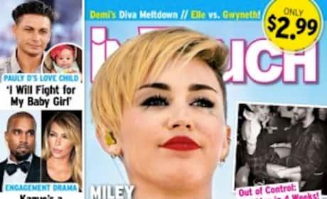Miley Cyrus Tabloid Photo