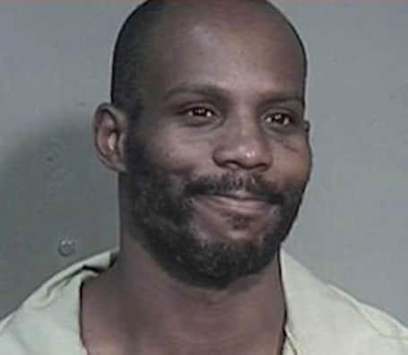 Smiling DMX Mug Shot