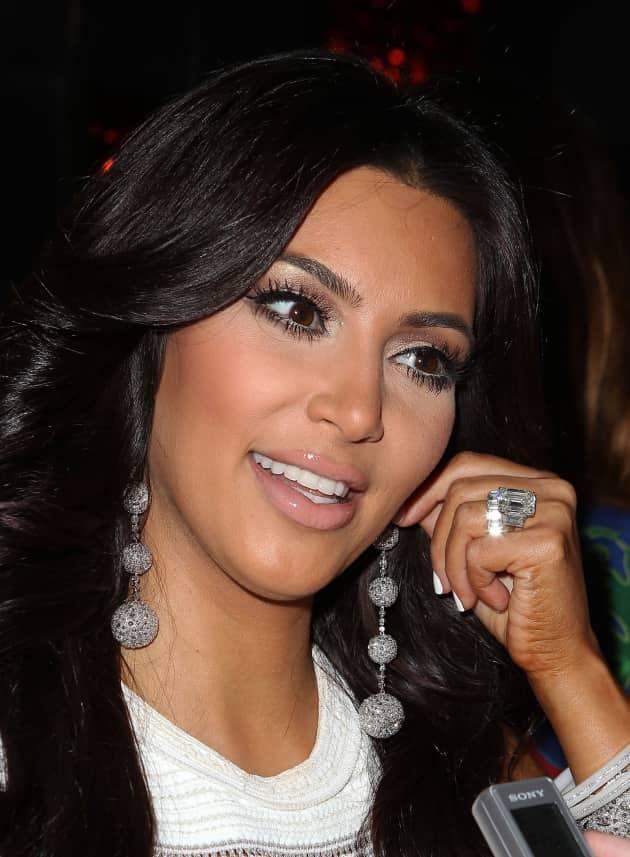 Close Up of Kim Kardashian
