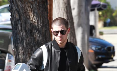 Nick Jonas Gets Down to Business in LA