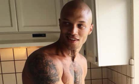 Jeremy Meeks Shirtless