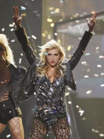 Ke$ha at the AMAs