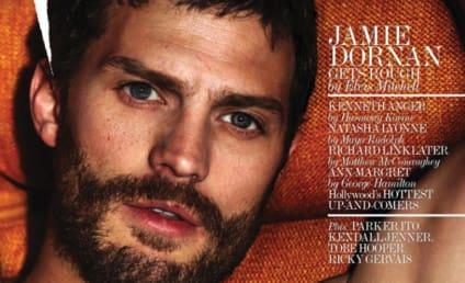 Jamie Dornan: Shirtless in Interview Magazine!