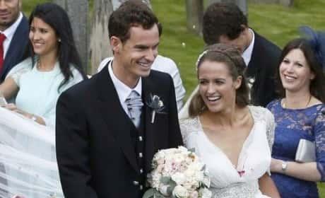 Andy Murray, Kim Sears Married!