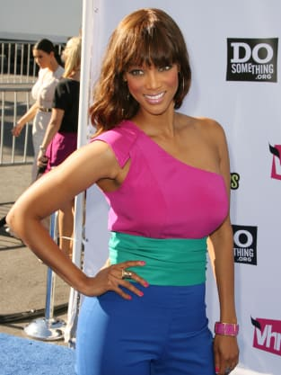 Tyra Banks at the Do Something Awards