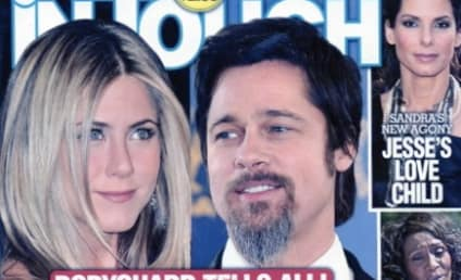 Jennifer Aniston and Brad Pitt Caught Kissing, Tabloid Hilariously Reports
