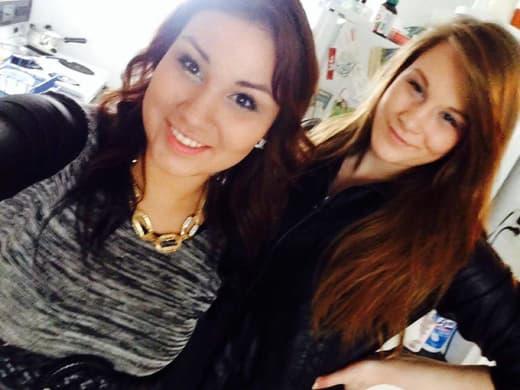 Cheyenne Antoine and Brittney Gargol, Pre-Murder Selfie