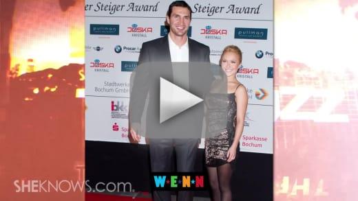 Hayden Panettiere Wladimir Klitschko Wedding Delayed The Hollywood