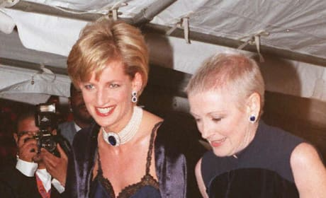 Princess Diana Attends 1995 Met Costume Institute Ball