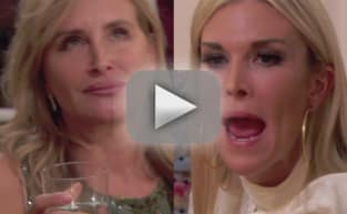 Sonja Morgan and Tinsley Mortimer FIGHT: Shut Your Mouth and Your F--king LEGS!
