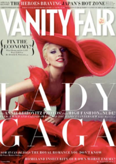 Lady Gaga Vanity Fair Cover