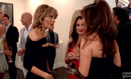 Lisa Vanderpump Takes on Eileen on The Real Housewives of Beverly Hills