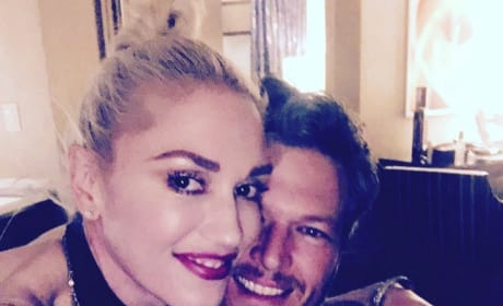 Blake and Gwen Instagram Pic 1