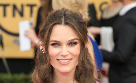 Keira Knightley at the SAG Awards