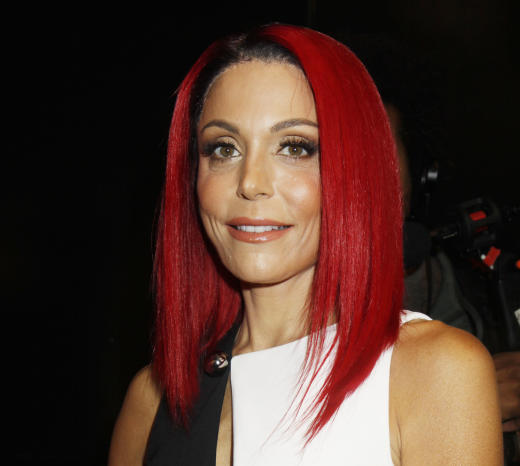 Bethenny Frankel with Red Hair