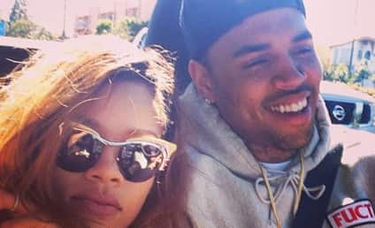 Rihanna and Chris Brown: Back Together (at Least in New Photo)!