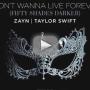 Taylor Swift and Zayn Malik Go Fifty Shades Darker, Release Single