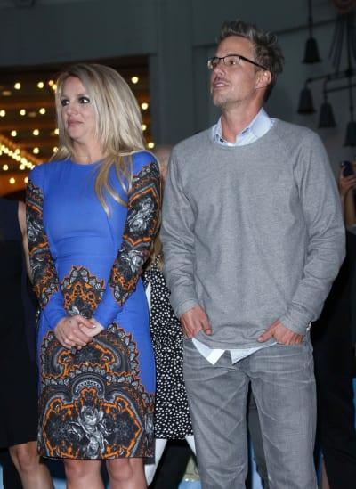 Jason Trawick With Britney Spears Photo
