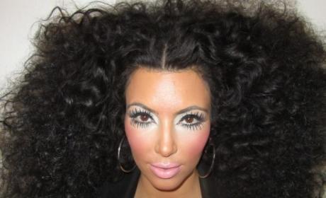 What do you think of Kim Kardashian's Diana Ross impression?