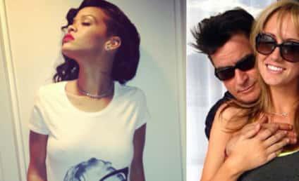 Rihanna Denies Charlie Sheen Request to Meet Brett Rossi; Warlock Goes Off on EPIC Tirade