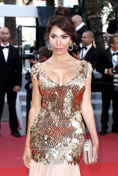 Farrah Abraham on the Red Carpet