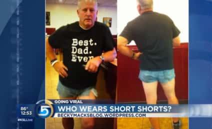 Scott Mackintosh, Utah Dad, Wears Short Shorts to Teach Daughter a Lesson