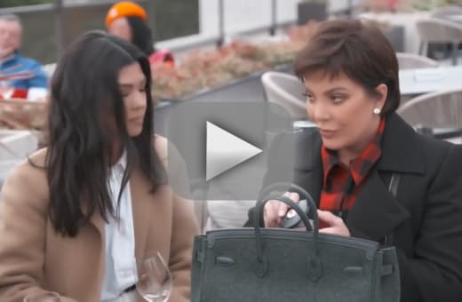 Kris jenner forced to interact with rando peasants in kuwtk snea