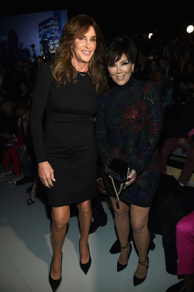 Kris Jenner with Caitlyn Jenner