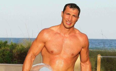 Wladmir Klitschko Shirtless Photo
