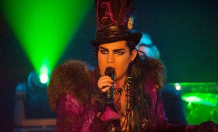 Excuse Adam Lambert While He Kisses Some Guy...