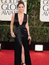 Katharine McPhee Golden Globes Dress