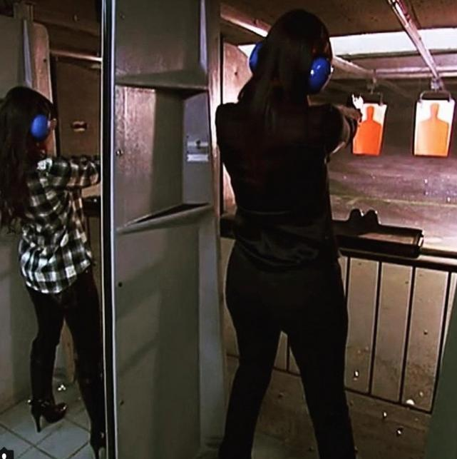 At the Gun Range