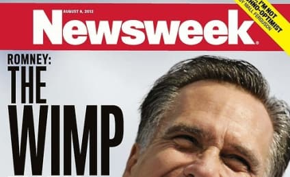 Mitt Romney 'Wimp' Newsweek Cover: On Point or Over the Line?