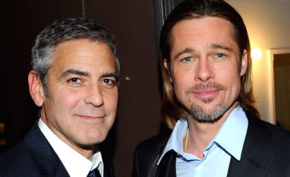 Brad Pitt: I'm Allowed to Hang Out With George Clooney Again!