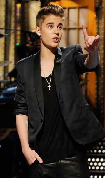 Bieber as Host
