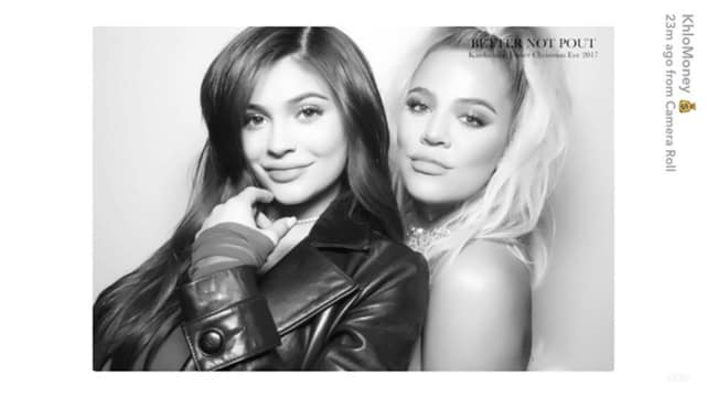 Khloe and kylie christmas party 2017