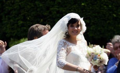 Lily Allen's 2011 Wedding