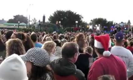 The Jonas Brothers Lead Christmas Parade Through Disney World