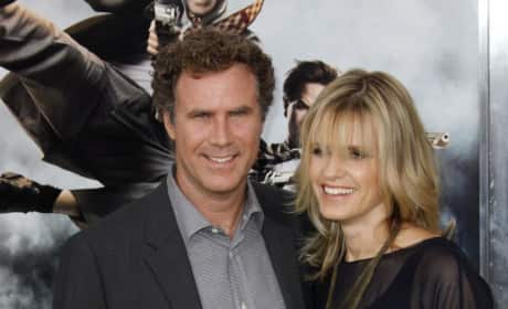 Will Ferrell and Wife