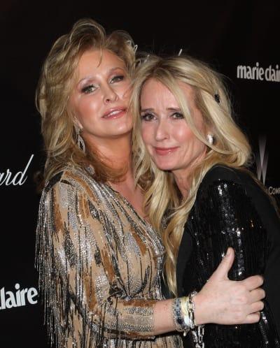 Kathy Hilton and Kim Richards