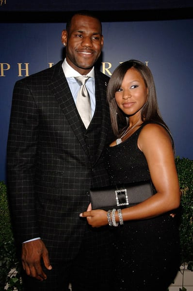 Lebron James And Savannah Brinson Picture The Hollywood
