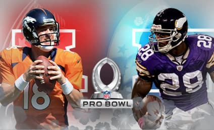 Pro Bowl Rosters Announced, Led By Peyton Manning and Adrian Peterson