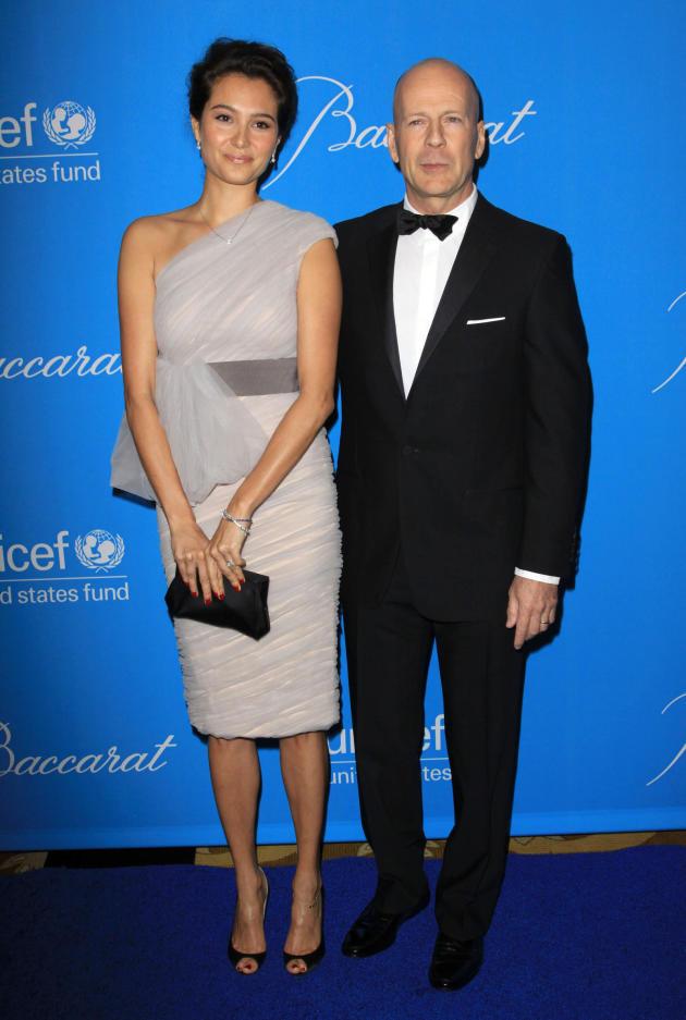 Bruce Willis, Wife