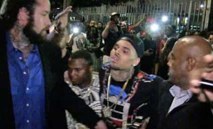 Chris Brown: I Wasn't Drunk! I Just Can't Hold My Liquor!