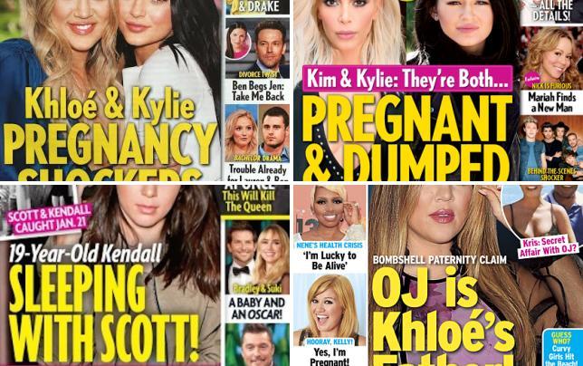 Khloe kardashian and kylie jenner pregnant