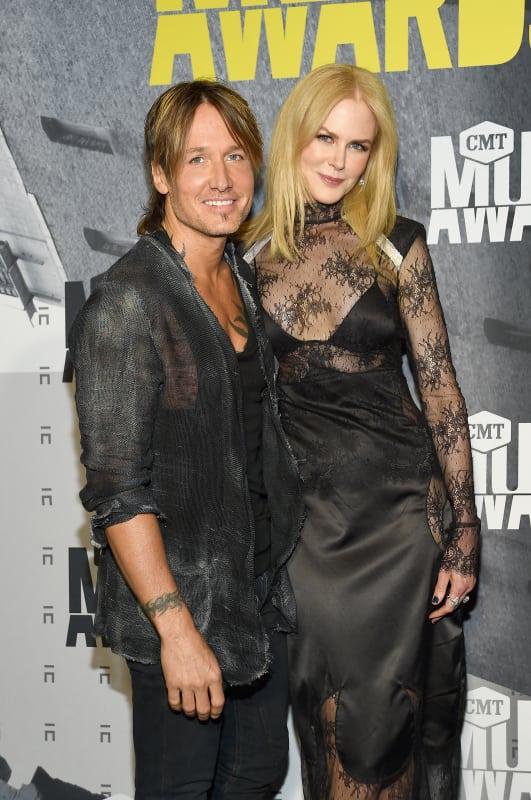 Nicole Kidman and Keith Urban at the CMTs