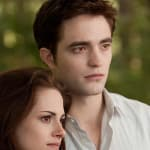 Edward and Bella in Breaking Dawn Part 2