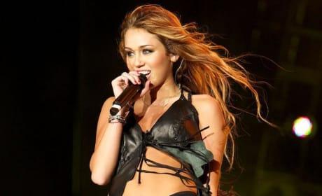 Miley in Black